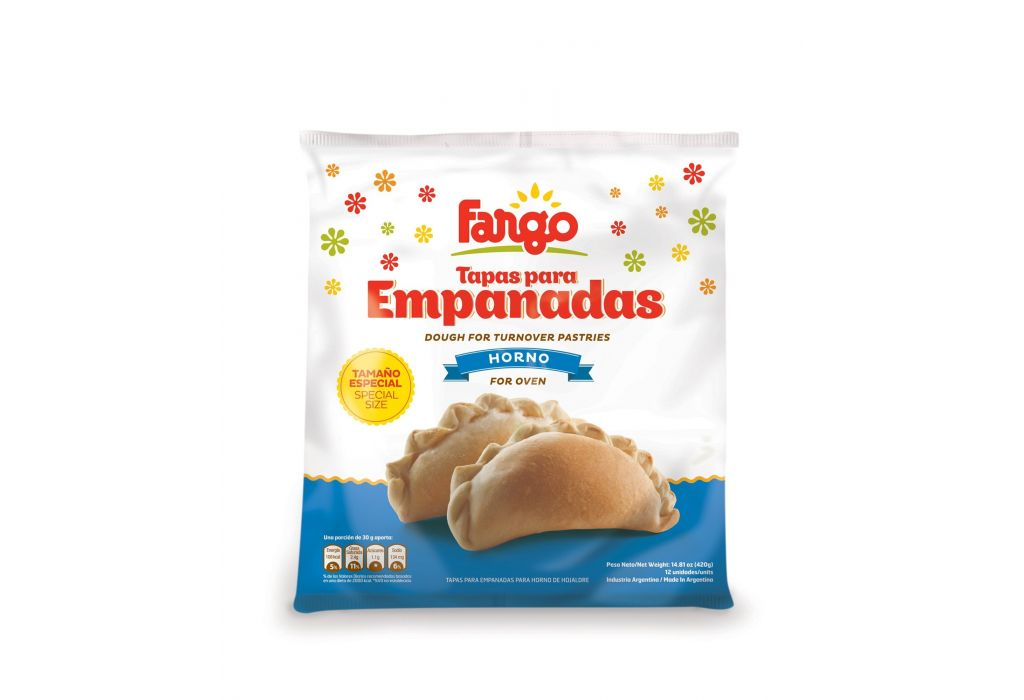 Large Empanada Pastry Cases (Oven)