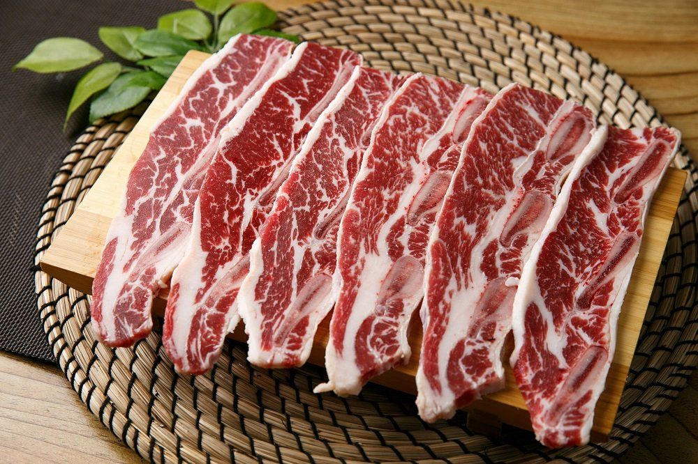 Thinly Sliced 'LA Galbi' Beef Short Ribs