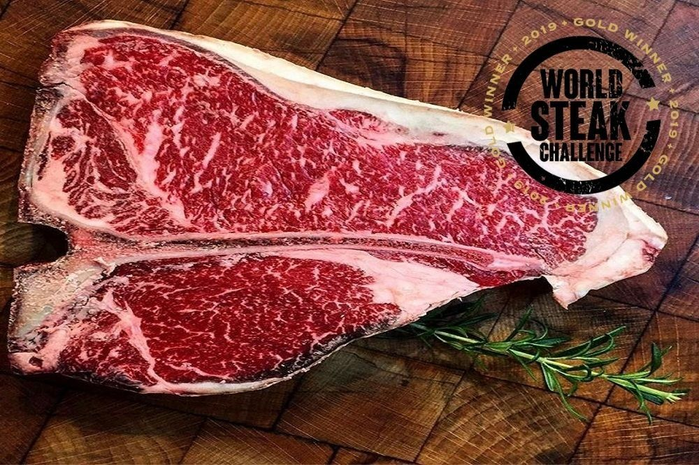 WX Wagyu T-Bone Steak BMS 5+