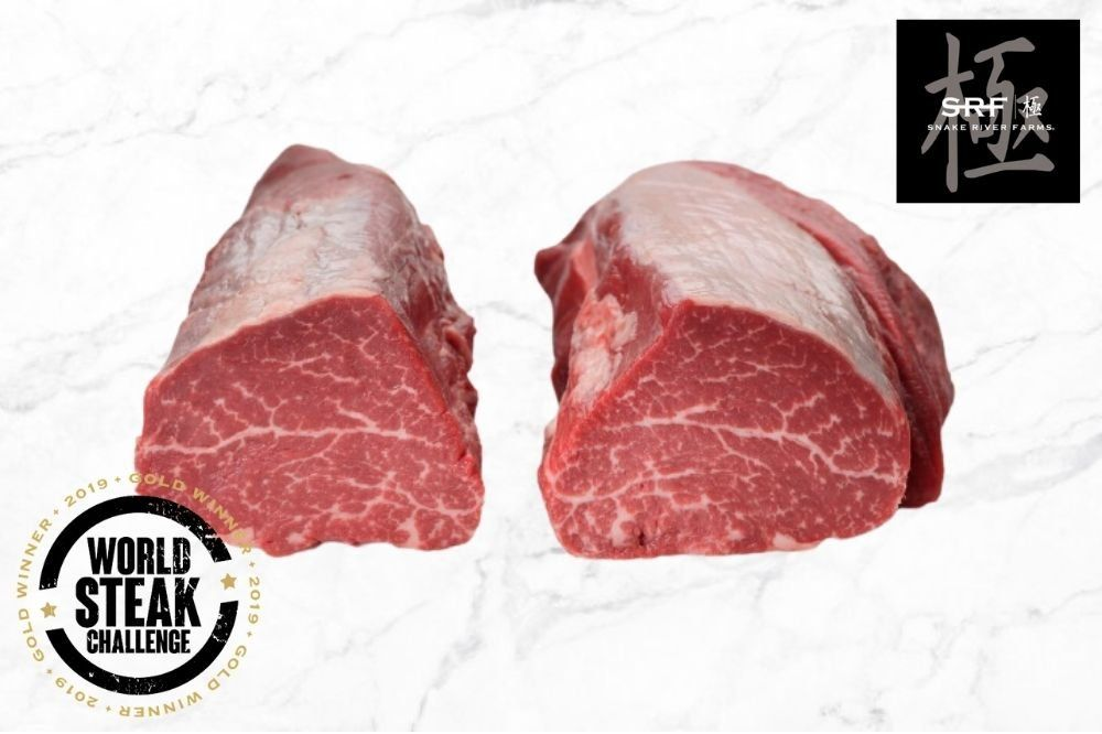 2 x American Wagyu Chateaubriand BLACK GRADE (Snake River Farms)